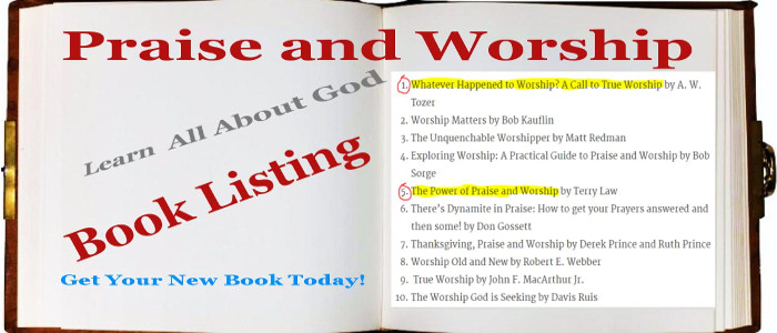 Praise and Worship Book Listing