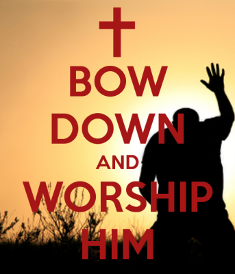 bow-down-and-worship-him