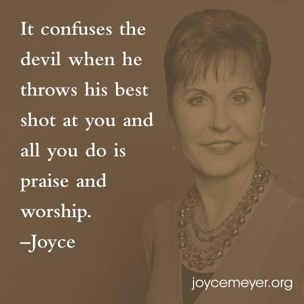 praise and worship Joyce Meyer