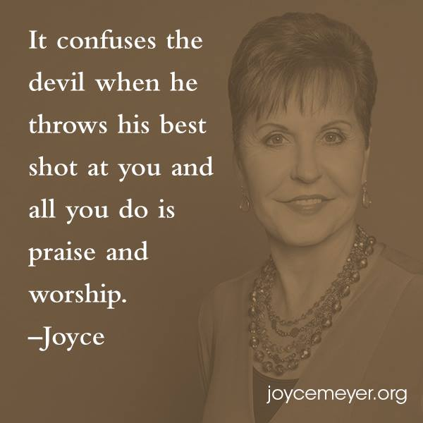 praise and worship Joyce Meyer