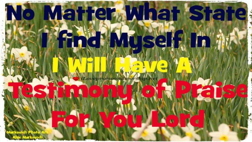 Testimony of Praise