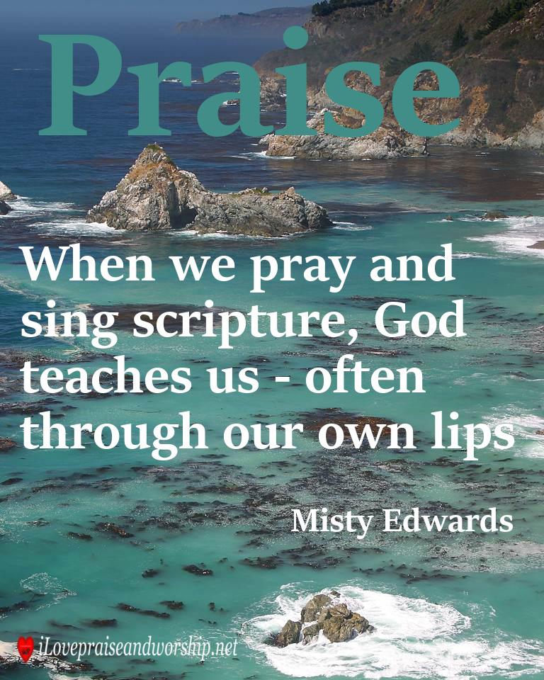 Praise Image Quote: MistyEdwards