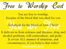 Free to Worship Cost