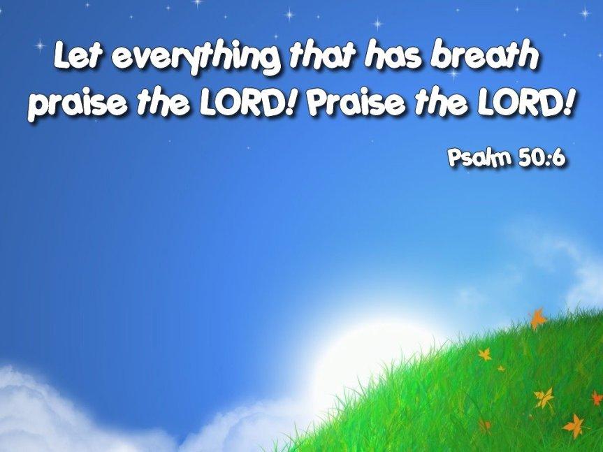 Free Wallpaper: Psalm50:6