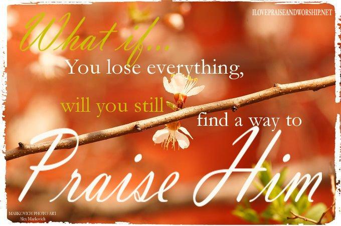 Praise Image: Whatif….