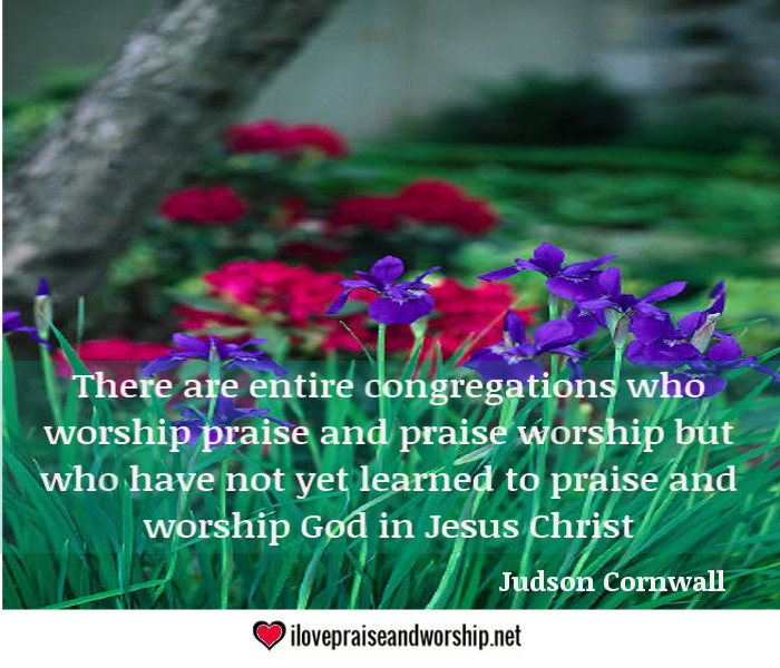 Congregations: Take this Worship Advice