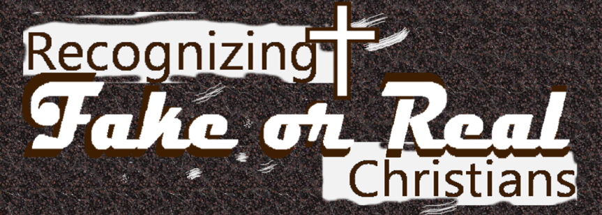 True and False Believers inChrist