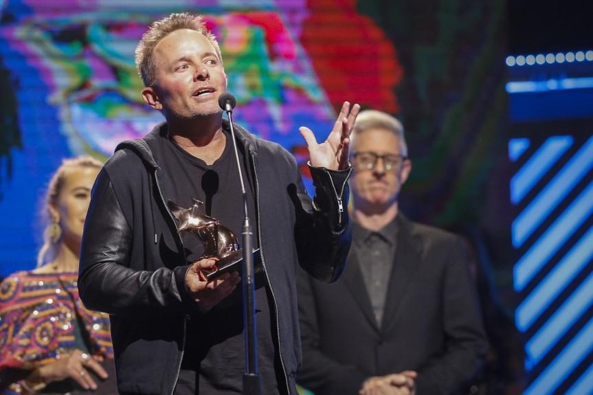 Chris Tomlin At Dove Awards