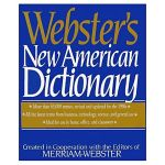 websters new american dictionary