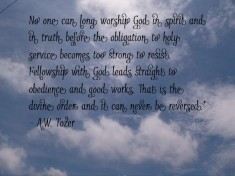 Picture Quote by A.W. Tozer