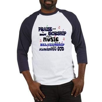praise_and_worship_is_not_music_baseball_jersey