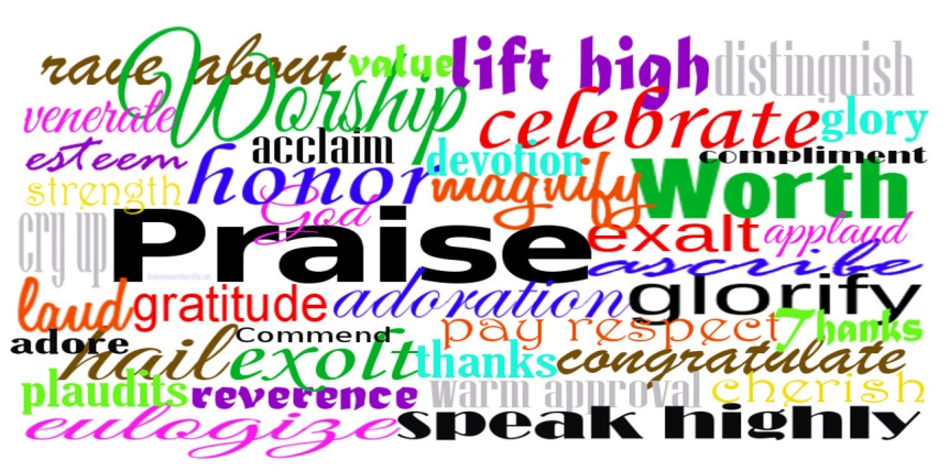 Praise and Worship Meaning Words