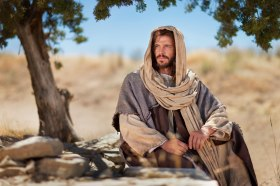 Jesus Christ Resting