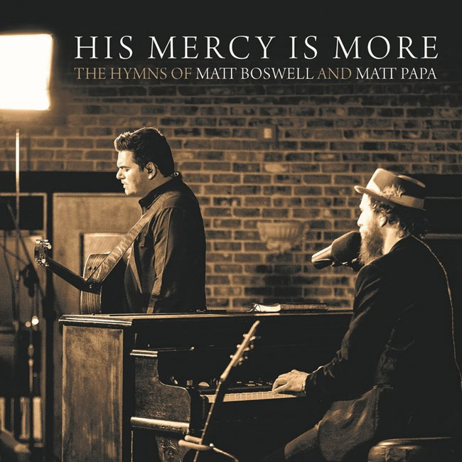 HYMNS OF MATT BOSWELL & MATT PAPA DEBUTS AT #1 PRAISE AND WORSHIP, #4 BILLBOARD OVERALL CHRISTIAN CONTEMPORARY